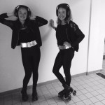 silent disco girls